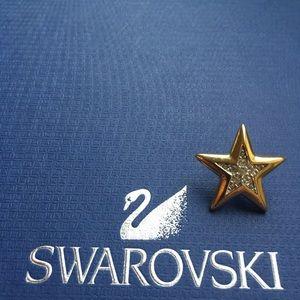 Vintage Star Swarovski pin